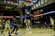 Kent State Golden Flashes guard Jaylin Walker (23) shoots against the Vanderbilt Commodores during the second half of an NCAA basketball game in Nashville, Tenn., Friday, Nov. 23, 2018. Kent State won 77-75. (Jim Brown/Image of Sport)