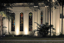 St. Augustine, Florida, Nights of Lights, 2017.  Cathedral Basilica of St. Augustine.