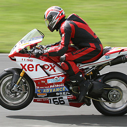Derek Butcher in action at the the annual visit to Knockhill of the North East MCRC Championship round. STEPHEN LAWSON|STOCKPIX