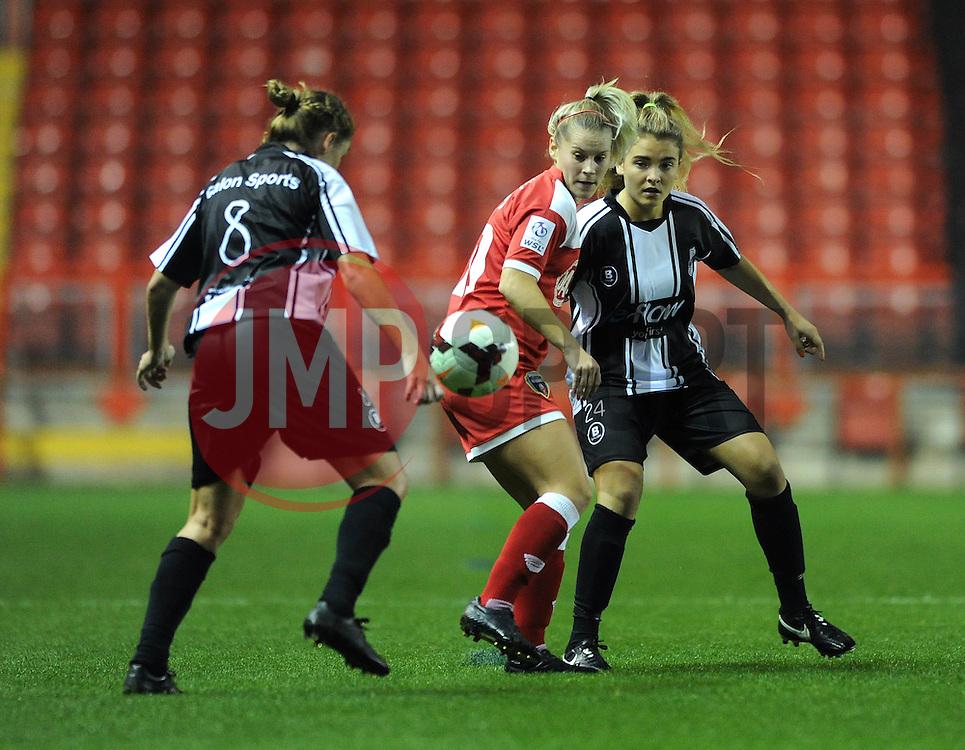 Bristol Academy Womens' Nicola Watts  - Photo mandatory by-line: Dougie Allward/JMP - Mobile: 07966 386802 - 16/10/2014 - SPORT - Football - Bristol - Ashton Gate - Bristol Academy v Raheny United - Women's Champions League