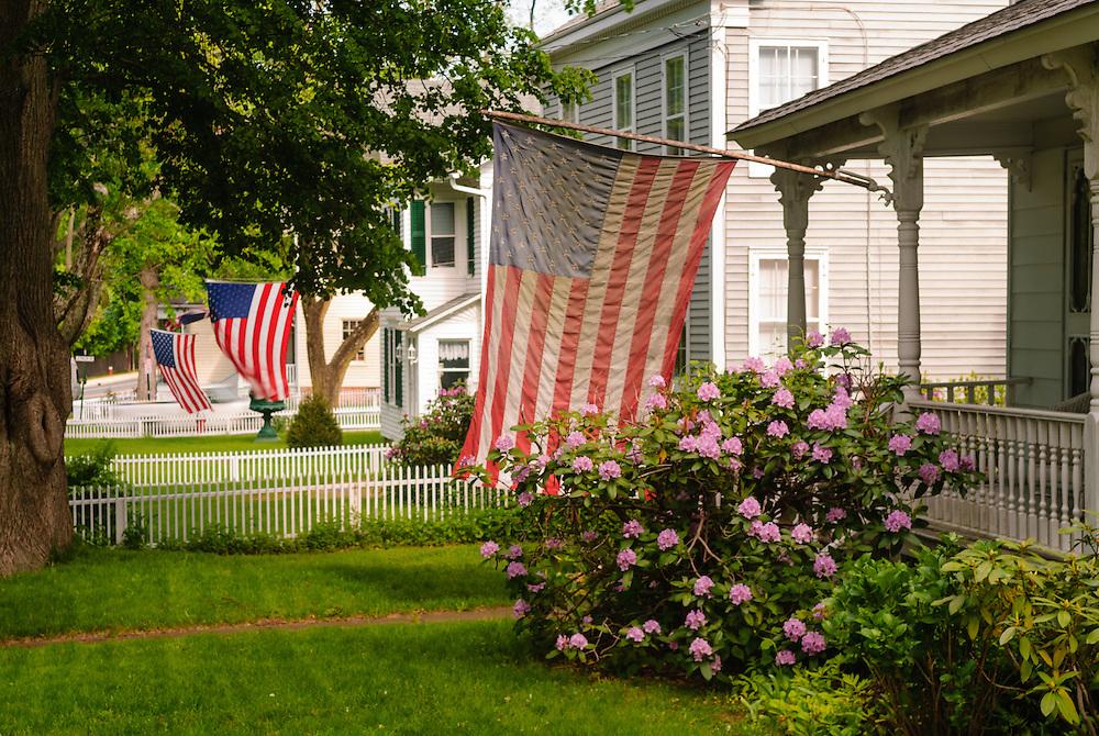 AmericanFlag, New York, South Fork, Sag Harbor