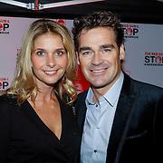 NLD/Blaricum/20121104 - Benefietavond The Red Sun Blaricum  t.b.v. Stop Kindermisbruik, Jeroen van de Boom en partner Danie de Wit