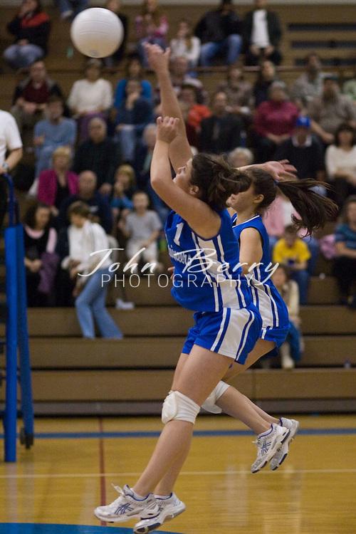 MCHS Varsity Volleyball..District Semi-Finals..Madison (3) vs George Mason (0)..November 3, 2005..