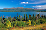 Dezadeash Lake and the Coast Mountains<br /> Haines Road<br /> Yukon<br /> Canada