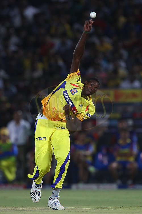 Jason Holder during match 61 of the Pepsi Indian Premier League ( IPL) 2013  between The Rajasthan Royals and the Chennai SUperkings held at the Sawai Mansingh Stadium in Jaipur on the 12th May 2013..Photo by Ron Gaunt-IPL-SPORTZPICS ..Use of this image is subject to the terms and conditions as outlined by the BCCI. These terms can be found by following this link:..http://www.sportzpics.co.za/image/I0000SoRagM2cIEc