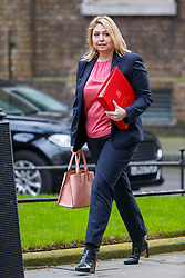 © Licensed to London News Pictures. 29/03/2017. London, UK. Culture Secretary KAREN BRADLEY attends a cabinet meeting in Downing Street, London on Wednesday, 29 March 2017 as Prime Minister Theresa May triggers article 50 and starts Britain's departure from the European Union. Photo credit: Tolga Akmen/LNP
