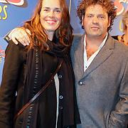 NLD/Amsterdam/20111010 - Premiere All Stars 2, Dirk Zeelenberg en partner Suus