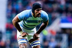 Rodrigo Bruni of Argentina - Mandatory by-line: Robbie Stephenson/JMP - 01/12/2018 - RUGBY - Twickenham Stadium - London, England - Barbarians v Argentina - Killick Cup