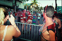 Fantasy fest on the streets of Key West.