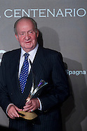 121614 King Juan Carlos received the Tiepolo 2014 prize
