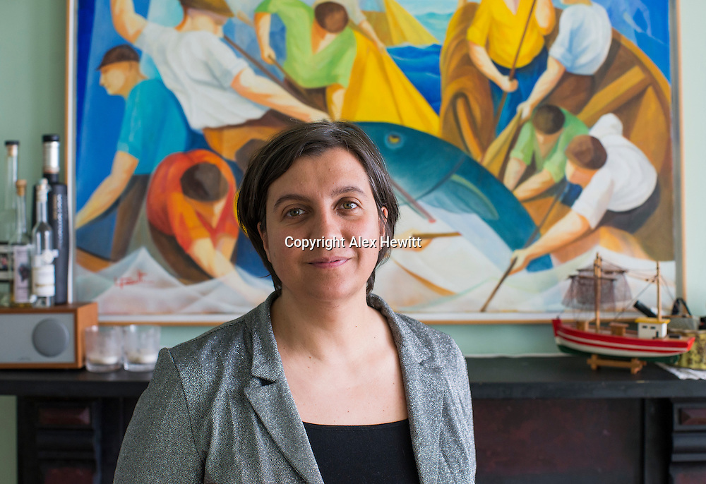 Maria Garrafa portrait. Edinburgh. 15th May 2016<br /> <br /> picture by Alex Hewitt Photography