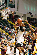 WSU junior Julius Mays (34) at the basket as the Central Michigan Chippewas play the Wright State University Raiders at the Nutter Center, Thursday, December 22, 2011.