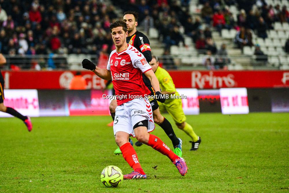 Anthony WEBER - 25.01.2015 - Reims / Lens  - 22eme journee de Ligue1<br /> Photo : Dave Winter / Icon Sport *** Local Caption ***