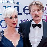 NLD/Amsterdam/20170924 - Première Was Getekend, Annie M.G. Schmidt, Ellen Evers en partner