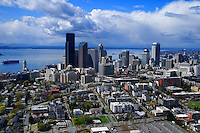 Seattle Skyline & First Hill