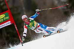 DEFAGO Didier of Switzerland during the 2nd Run of 7th Men's Giant Slalom - Pokal Vitranc 2013 of FIS Alpine Ski World Cup 2012/2013, on March 9, 2013 in Vitranc, Kranjska Gora, Slovenia. (Photo By Vid Ponikvar / Sportida.com)
