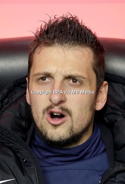 Italian League Serie A -2014-2015 / <br /> ( FC Internazionale ) - <br /> Zdravko Kuzmanovic