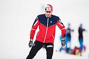 VAL SENALES 2016-10-25<br /> Tr&auml;ningsl&auml;ger landslag Val Senales<br /> Niklas Dyrhaug<br /> Foto: Nils Petter Nilsson/Ombrello