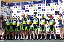 Team Orica during 1st Stage (164 km) at 19th Tour de Slovenie 2012, on June 14, 2012, in Celje, Slovenia. (Photo by Urban Urbanc / Sportida)