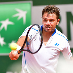 Stan Wawrinka during Day 2 of the French Open 2018 on May 28, 2018 in Paris, France. (Photo by Dave Winter/Icon Sport)