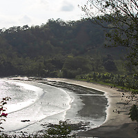 View of the bech of Punta Islita from the garden of Casa   Los Monitos in located in Punta Islita, Guanacaste, Costa Rica. Photo: Tito Herrera for The New York Times.