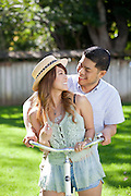 Joe and Maria portraits in the park..photo by Jason Doiy