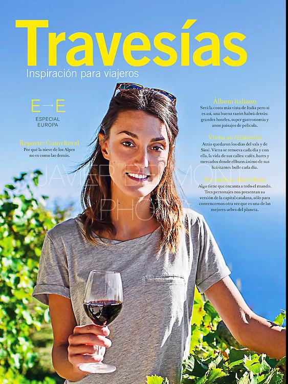 Revista Travesias, Costa Amalfitana, especial Europa.