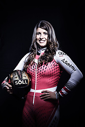 12.10.2019, Olympiahalle, Innsbruck, AUT, FIS Weltcup Ski Alpin, im Bild Christina Ager // during Outfitting of the Ski Austria Winter Collection and the official Austrian Ski Federation 2019/ 2020 Portrait Session at the Olympiahalle in Innsbruck, Austria on 2019/10/12. EXPA Pictures © 2020, PhotoCredit: EXPA/ JFK