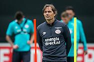 EINDHOVEN, eerste training PSV, voetbal, Eredivisie seizoen 2016-2017, 27-6-2016, Trainingscomplex de Herdgang, Phillip Cocu.