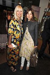 Left to right, VIRGINIA BATES and DAISY BATES at the Natural Beauty Honours 2008 hosted by Neal's Yard Remedies, 124b King's Road, London SW3 on 4th September 2008.<br /> <br /> NON EXCLUSIVE - WORLD RIGHTS
