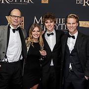 NLD/Amsterdam/20150126 - Premiere Michiel de Ruyter, Joost Koning en ...........