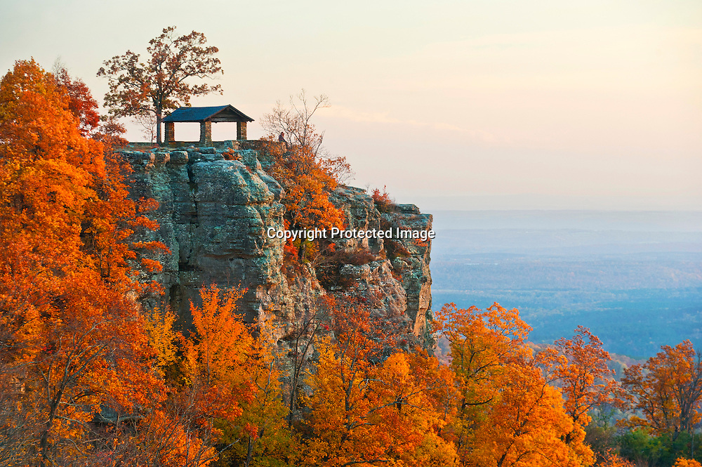 White Rock Mountain in Ozark, Ark.