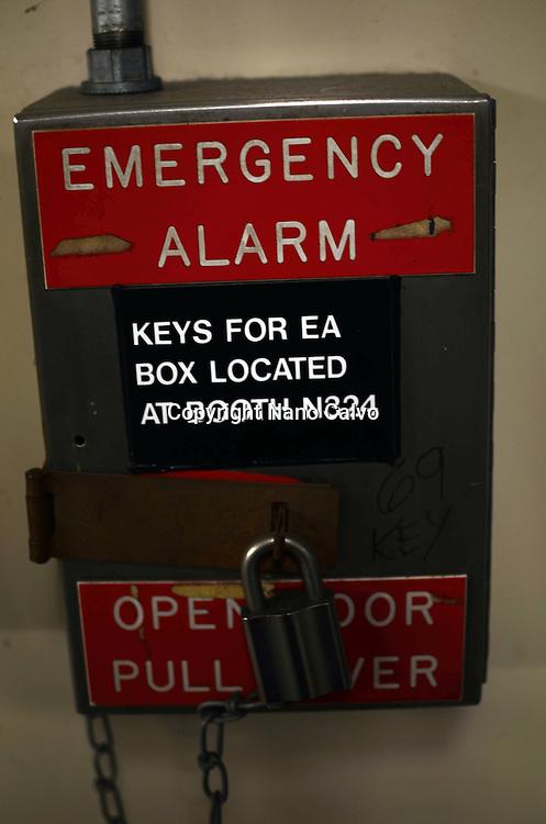 Emergency Alarm booth