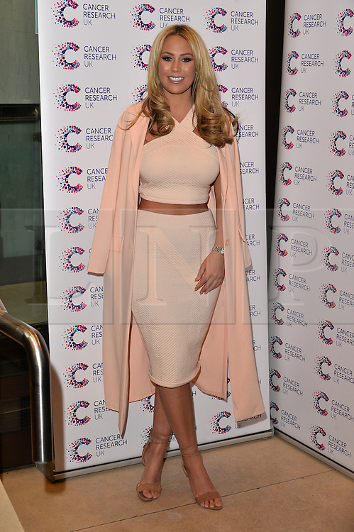 © Licensed to London News Pictures. 07/04/2016. Guests including DANIELLA ARMSTRONG, CASEY BATCHELOR, ALESHA DIXON, PAUL YOUNG, MICHELLE HEATON, VICKY PATTISON, JESSICA WRIGHT, LUCY NECKLENBURGH, LUISA ZISSMAN, LYDIA ROSE BRIGHT, JASMIN WALIA attend  the JAMES INGHAM'S Jog-On to Cancer - Part 4 London, UK. Photo credit: Ray Tang/LNP