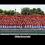 Hurricanes Football Team Photos