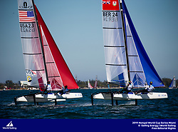 From 27 January to 3 February 2019, Miami will host sailors for the second round of the 2019 Hempel World Cup Series in Coconut Grove. More than 650 sailors from 60 nations will race across the 10 Olympic Events. &copy;JESUS RENEDO/SAILING ENERGY/WORLD SAILING<br /> 29 January, 2019.