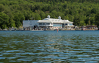 NH Dept of Safety Marine Patrol at Glendale on Lake Winnipesaukee.  (Karen Bobotas/for the Laconia Daily Sun)