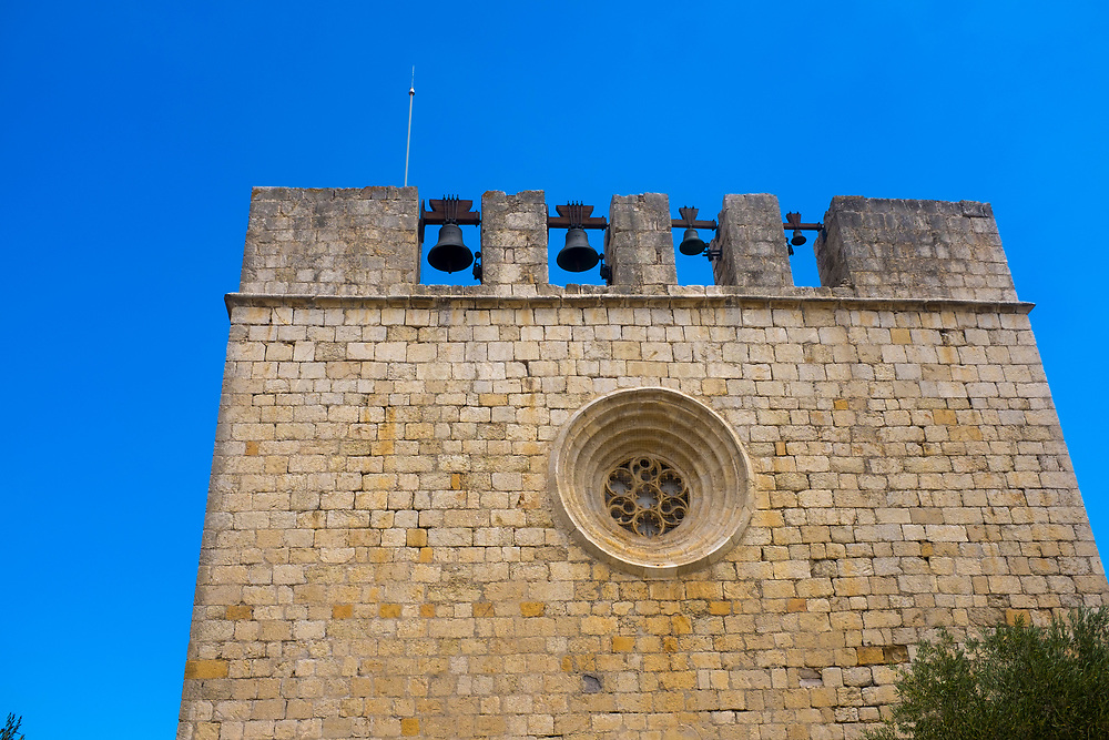 Church and bells, Sant Martí d'Empúries, Catalonia.