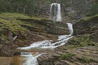 Virginia Falls Glacier National Park Montana