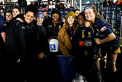 Worcester Warriors Women celebrate victory over Richmond Women - Mandatory by-line: Robbie Stephenson/JMP - 11/01/2020 - RUGBY - Sixways Stadium - Worcester, England - Worcester Warriors Women v Richmond Women - Tyrrells Premier 15s