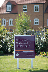 Ben Bailey houses for sale as part of the Governments 'Help to Buy' scheme, Skylark View, Manvers Way, Wath upon Dearne, Rotherham, South Yorkshire.