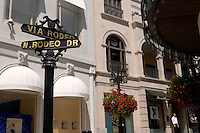 Rodeo Drive Street Signs, Beverly Hills, California