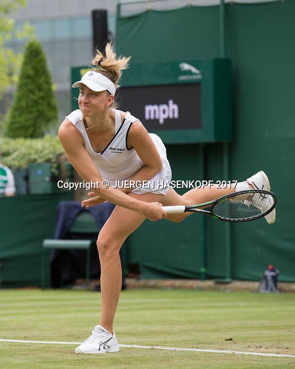 MONA BARTHEL (GER)<br /> <br /> Tennis - Wimbledon 2016 - Grand Slam ITF / ATP / WTA -  AELTC - London -  - Great Britain  - 4 July 2017.
