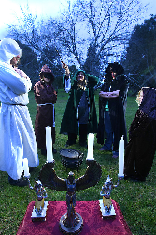 How is Julia Gillard seen by religions? Witches perform a pagan ritual at Spring Gully Reserve East Keilor. Left to right, Peter, Leanne, Lizzy Rose  celebrity psychic, Order of Wisdom, Learning &amp; Light OWLL , Purple  her real name , Alchemy  - Pic By Craig Sillitoe 17/07/2010 SPECIAL 000 melbourne photographers, commercial photographers, industrial photographers, corporate photographer, architectural photographers, This photograph can be used for non commercial uses with attribution. Credit: Craig Sillitoe Photography / http://www.csillitoe.com<br />