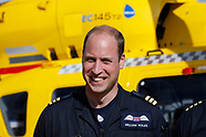 Prince William's last day at East Anglia Air Rescue - 27 July 2017