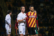 Bradford City midfielder, on loan from Newcastle United, Haris Vuckic (19)  during the EFL Sky Bet League 1 match between Bradford City and Northampton Town at the Coral Windows Stadium, Bradford, England on 22 November 2016. Photo by Simon Davies.