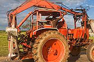 Tractor in Bolivia, Ciego de Avila Province, Cuba.