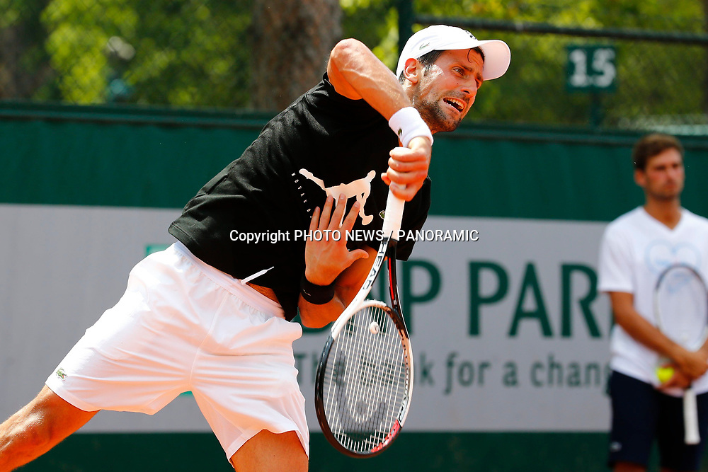 PARIS, FRANCE - MAY 28 :  Novak Djokovic