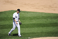 CHICAGO, IL - JUNE 26:  Phil Humber #41 of the Chicago White Sox walks toward the pitchers mound during the game against the Washington Nationals on June 26, 2011 at U.S. Cellular Field in Chicago, Illinois.  The Nationals defeated the White Sox 2-1.  (Photo by Ron Vesely/MLB Photos via Getty Images)  *** Local Caption *** Philip Humber.