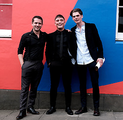 Edinburgh International Film Festival 2019<br /> <br /> Schemers (world premiere)<br /> <br /> Pictured: Grant R Keelan, Sean Connor and Conor Berry<br /> <br /> Alex Todd | Edinburgh Elite media